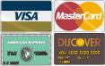 We accept mastercard, Visa, American Express and Discover Andy's Equipment Erie PA