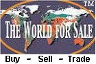 The World For Sale - Your Worldwide Classified - Buy Sell Trade